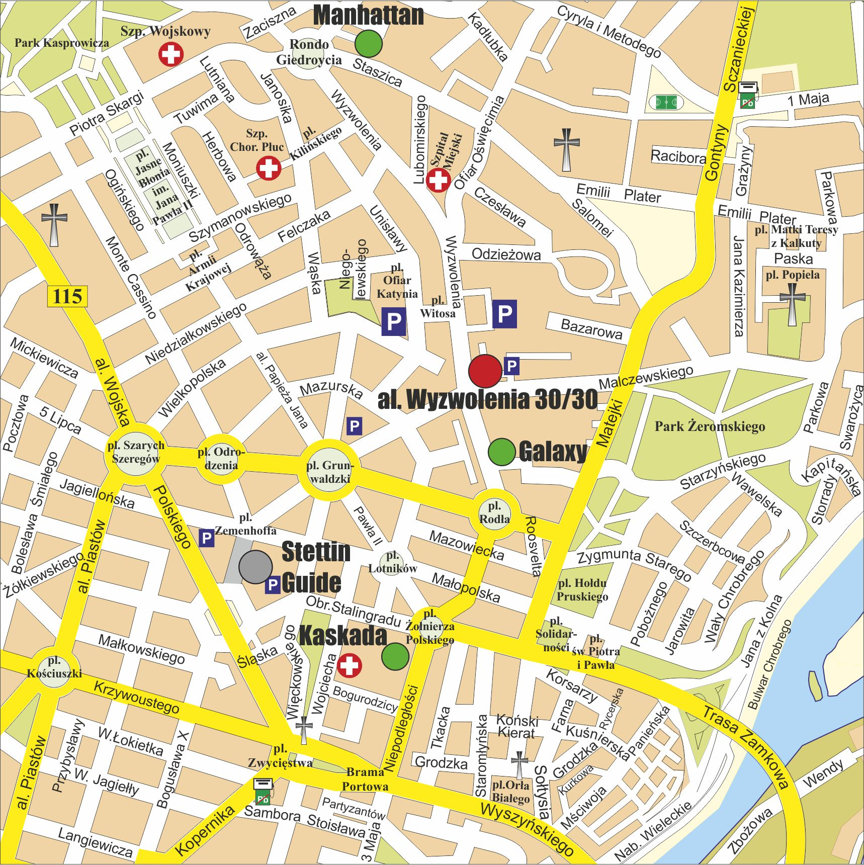 STETTIN GUIDE Holiday flat to book in centre of Szczecin Poland